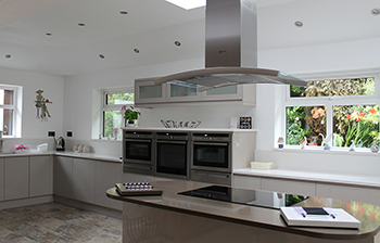 Kitchen extension, open plan living