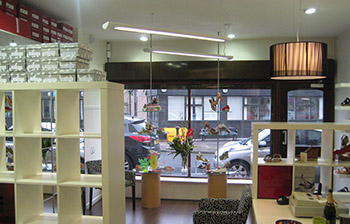 Retail refurbishment and interior design
