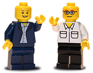 Our lego dopplegangers